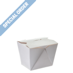 700ml [No 2] Rectangular Box 'Plain White'